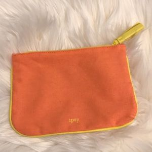 Ipsy Glam Bag in Orange & Yellow